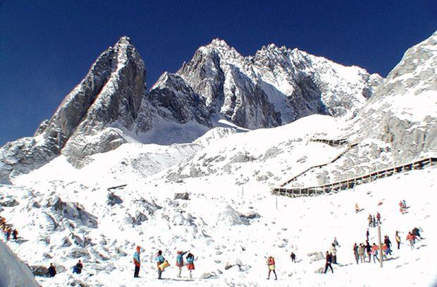 station de ski en Chine