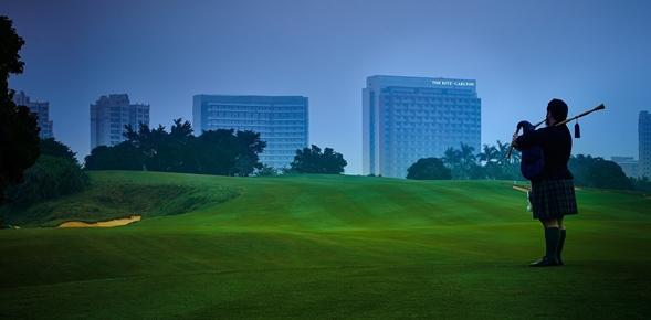 Le Ritz-Carlton dans l'île de Hainan, premier golf resort en Chine