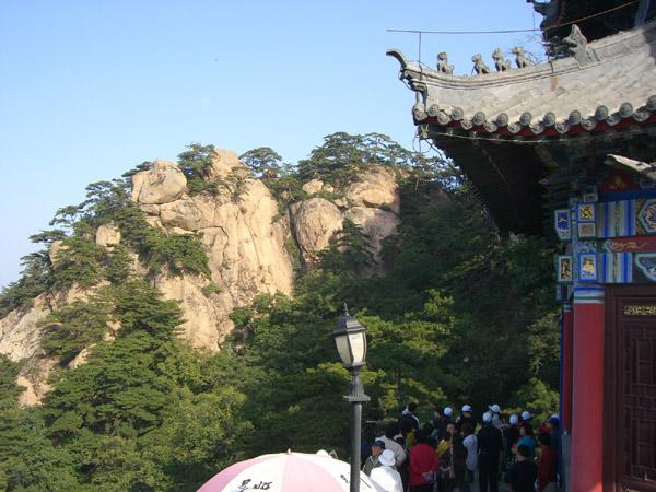 Le parc national de Qianshan dans la province chinoise de Liaoning